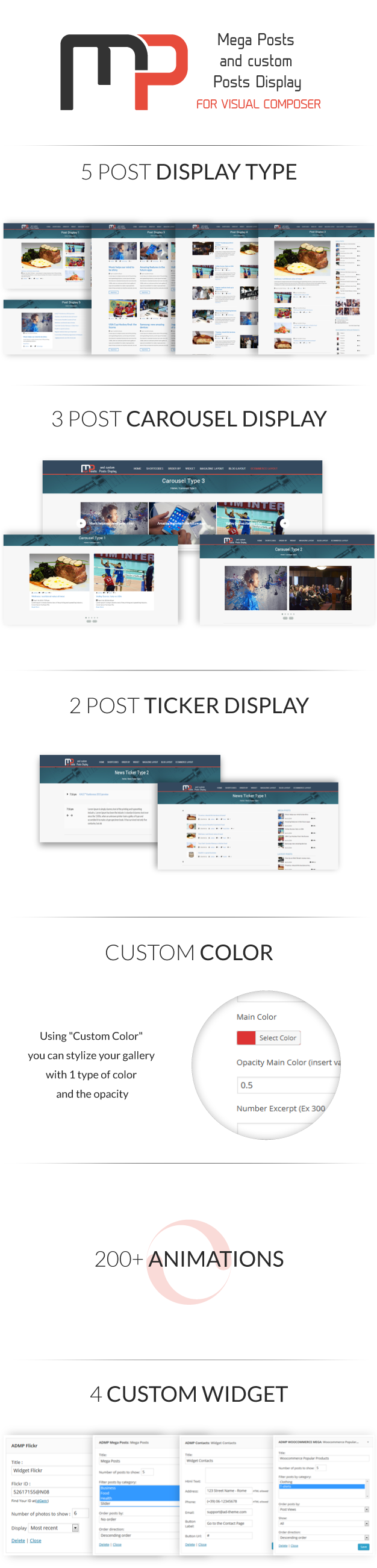 Mega Posts Display for Visual Composer - 1