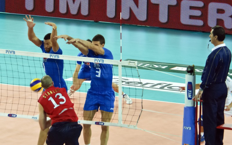 Volley Scores: Italy vs USA