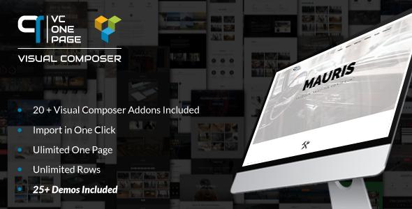 Pacote de complementos do compositor visual - galeria, mídia, posts e utilitário para VC-4