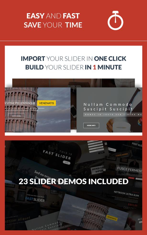 Fast Slider - Easy and Fast - Slider Plugin for WordPress 1