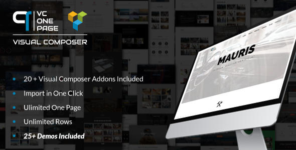 Visual composer addons bundle - gallery, media, posts and utility for VC 4